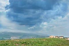 chmury burza Zdjęcie Stock