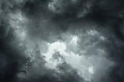 chmury burza Obraz Stock