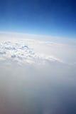 chmury gazami obraz stock