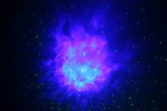 chmury gazu nebulas niebieski Zdjęcie Stock