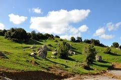 Chmury i cienie Zdjęcie Royalty Free