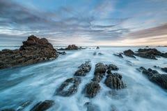 Chmury i morze zdjęcia stock
