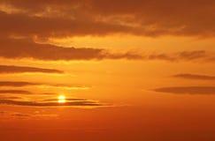 Chmury i słońce Obrazy Stock