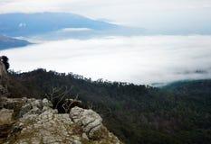 Chmury i sztuki Zdjęcia Stock
