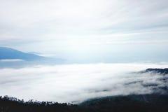 Chmury i sztuki Zdjęcia Royalty Free