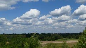 Chmury Krajobraz Krajobraz robić wokoło miasta Tarnowskie GÃ ³ ry Polska zdjęcie royalty free