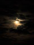 chmury księżyc Zdjęcie Stock