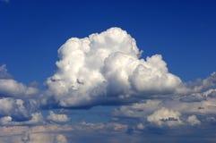 chmury latem Zdjęcia Royalty Free