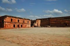 Chmury nad Agra fortem, Agra, Uttar Pradesh, India Obraz Stock