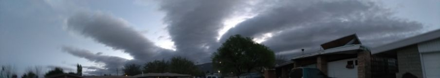 Chmury Nad Alamogordo Obrazy Stock