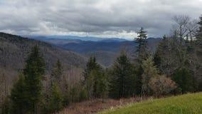 Chmury nad Appalachian górami zbiory