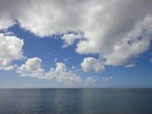 Chmury nad morzem, Hawaje Obrazy Royalty Free