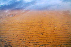 chmury nad Sahara Zdjęcia Stock