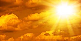 chmury piękna fotografia Obrazy Royalty Free