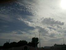 chmury piękny niebo Fotografia Stock