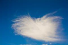 Chmury pierzastej chmura obrazy royalty free