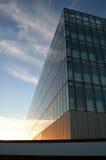 chmury pierzastej szkła Zdjęcie Royalty Free