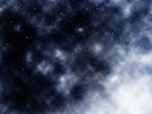 chmury przestrzeni Obrazy Royalty Free