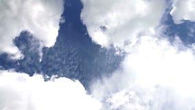 Chmury Rusza się czasu upływ zdjęcie wideo