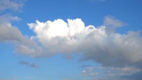 Chmury Rusza si? W B??kitny Czysty nieba time lapse zbiory wideo