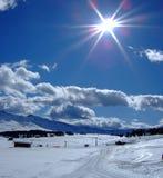 chmury słońce Obrazy Royalty Free