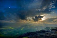 chmury słońce Zdjęcie Royalty Free