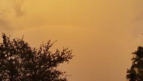 CHMURY SAHARA ZWARTY pył Zdjęcie Royalty Free