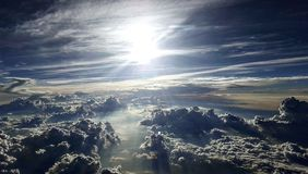 chmury się Obrazy Royalty Free