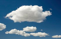 chmury tło Zdjęcia Stock