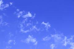 Chmury tło Zdjęcie Stock