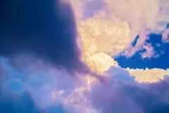 Chmury w Afryka Obraz Stock