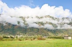 Chmury w Alps Fotografia Stock