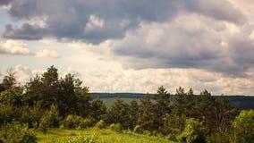 Chmury w chmurnym dniu zbiory