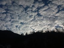 Chmury w częściach Obrazy Royalty Free