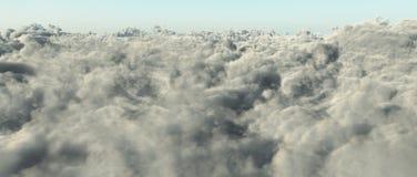 Chmury w dnia świetle ilustracja wektor