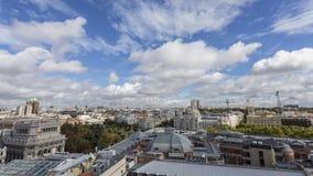 Chmury w Madrid Zdjęcia Royalty Free