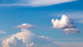 Chmury w niebie Zdjęcie Stock