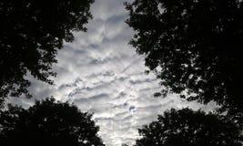 Chmury w niebie Obrazy Royalty Free