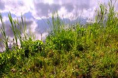 Chmury w rzece Fotografia Stock