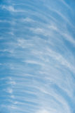 Chmury w unikalnym wzorze Obrazy Stock