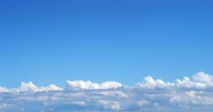 chmury warstwa Zdjęcia Royalty Free