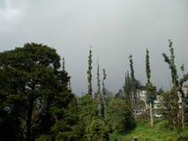 Chmury wokoło pękać zdjęcie royalty free