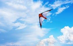 Chmury z kanią Zdjęcie Stock