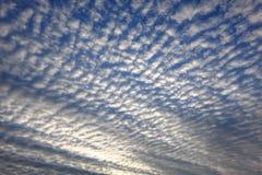 Chmurzący światła dziennego niebo Zdjęcie Royalty Free