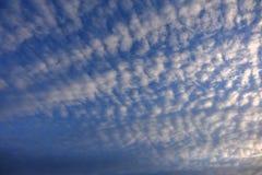 Chmurzący światła dziennego niebo zdjęcia royalty free