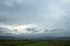 Chmurzący dzień przed deszczem Zdjęcie Stock
