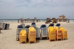 Chmurzący w Tel Aviv Zdjęcia Royalty Free