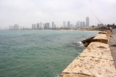 Chmurzący w Tel Aviv Fotografia Stock