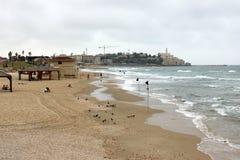 Chmurzący w Tel Aviv Zdjęcia Stock