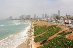 Chmurzący w Tel Aviv Obrazy Royalty Free